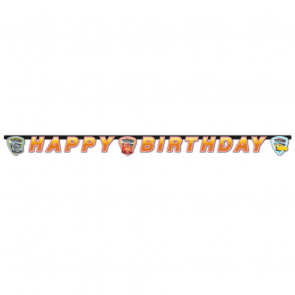 """Happy Birthday"" Die-cut Banner  -  Cars 3"