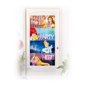 1 Door Banner  -  Princess Heartstrong