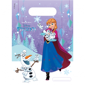 6 Party Bags  -  Frozen Snowflakes