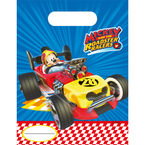 6 Party Bags  -  Mickey Roadster