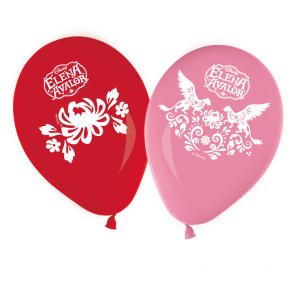 8 11 inches Printed Balloons  -  Elena of Avalor