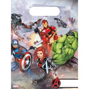 6 Party Bags  -  Mighty Avengers