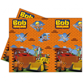 1 Plastic Tablecover 120x180cm  -  Bob The Builder