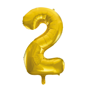 "Foilballoon No. 2, 34"" - gold"