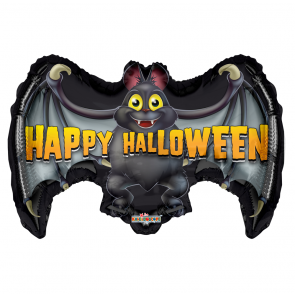 "Foilballoon shape  ,  24""  -  halloween bat"