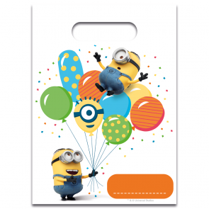 6 Party Bags  -  Minions 3 - Balloons