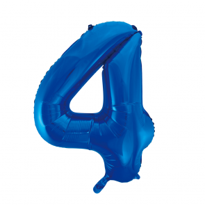 "Foilballoon No. 4, 34"" - blue"