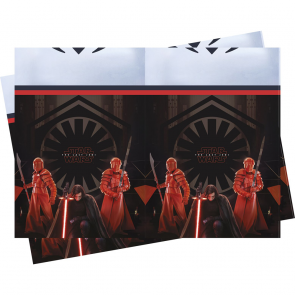 "1 Plastic Tablecover 120x180cm - Star Wars ""Episode 8"""