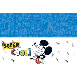 Plastic Tablecover 120x180cm  - Mickey Super Cool