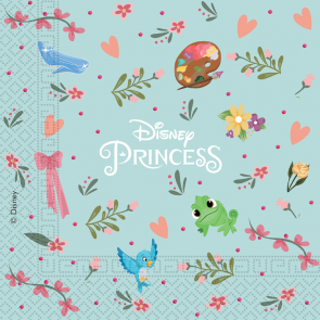 20 Two-Ply Paper Napkins 33x33cm - Princess Dare To Dream