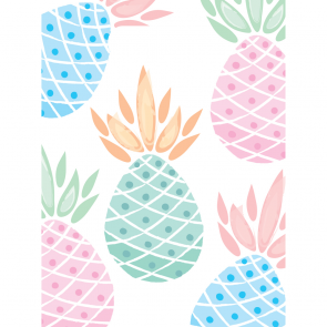 6 Party Bags - Pineapples