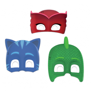 6 Die-Cut Masks - PJ Mask