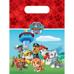 6 Party Bags - Paw Patrol
