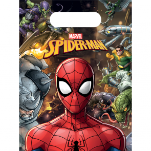 6 Party Bags - Spiderman Team Up