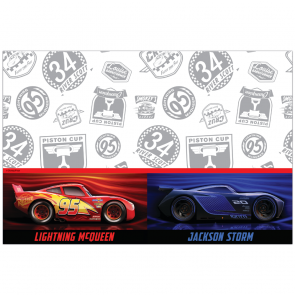 Plastic Tablecover 120x180cm - Cars The Legend of The Track