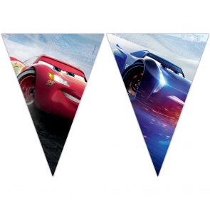 Triangle Flag Banner (9 Flags) - Cars The Legend of The Track