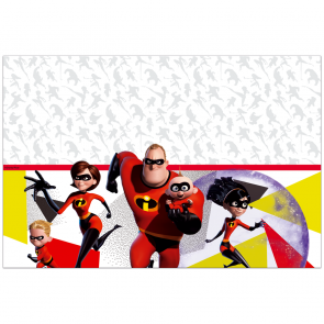 1 Plastic Tablecover 120x180cm - The Incredibles 2