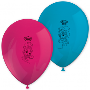 8 11 inches Printed Balloons - Shimmer & Shine