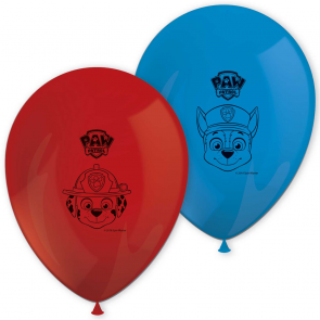 8 11 inches Printed Balloons - Paw Patrol ready for action