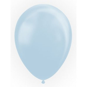 "25 Balloons 12"" pearl light blue"