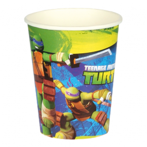 8 Paper Cups - Ninja Turtles