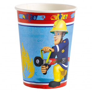 8 Paper Cups 266 ml - Fireman Sam