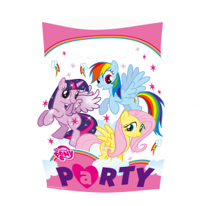 8 Party Bags - My Little Pony