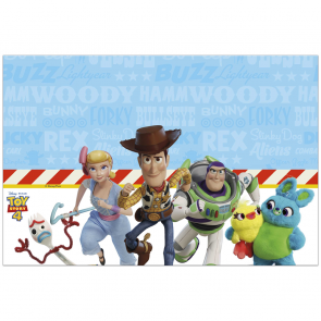 1 Plastic Tablecover 120x180cm  Toy Story 4