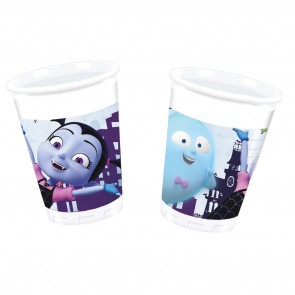 8 Plastic Cups 200ml  -  Vampirina