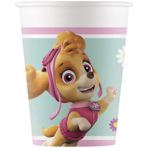 8 Paper cups 200ml - Paw Patrol Skye & Everest