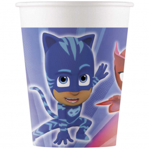 8 Paper cups 200ml - PJ Masks