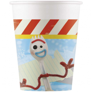 8 Paper cups 200ml - Toy Story 4