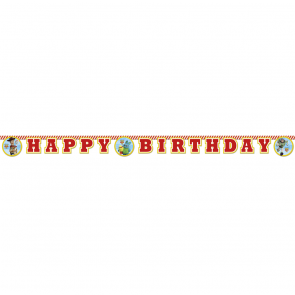 """Happy Birthday"" Die-Cut Banner - Toy Story 4"