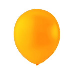 100 Neonballoons , 10'' - orange