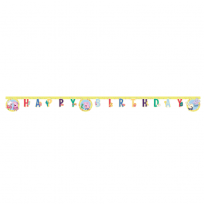 "1 ""Happy Birthday"" Die-Cut Banner - Peppa Pig"