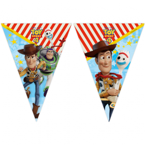 1 Triangle Flag Banner (9 Flags) - Toy Story 4