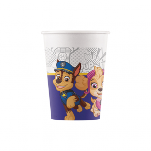 8 Paper cups 200ml - Paw Patrol Yelp For Action - Compostable FSC