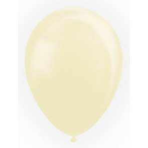 """10 Balloons 12"""" pearl ivory"""