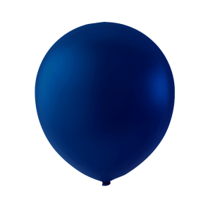 100 balloons, 9'' - navy blue (crystal)