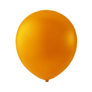 100 balloons, 9'' - orange (crystal)