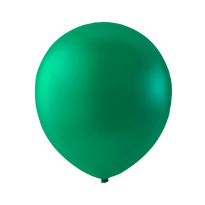 100 balloons, 9'' - emerald green (crystal)