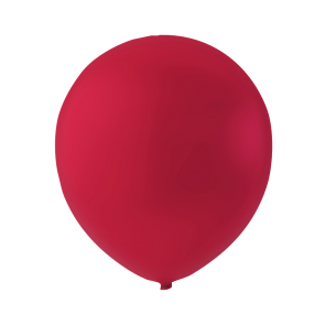 100 balloons, 9'' - cherry red (crystal)