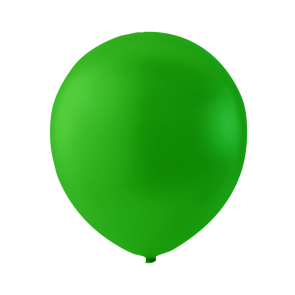 100 balloons, 9'' - lime green