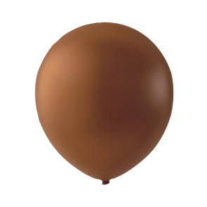 100 balloons, 9'' - brown