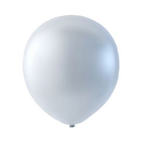 100 balloons pearl, 9'' - pearl white