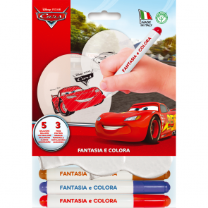 Fantasy Kit (3 Pencils 5 Balloons) - Cars