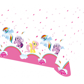 Plastic Tablecover 120x180cm - My Little Pony