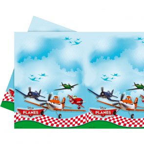 Plastic Tablecover 120x180cm - Planes