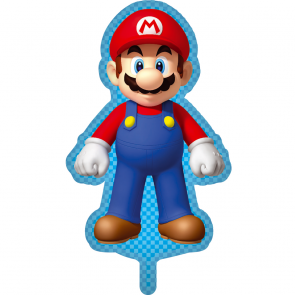 Printed foil balloon 75 x 51 cm - Super Mario